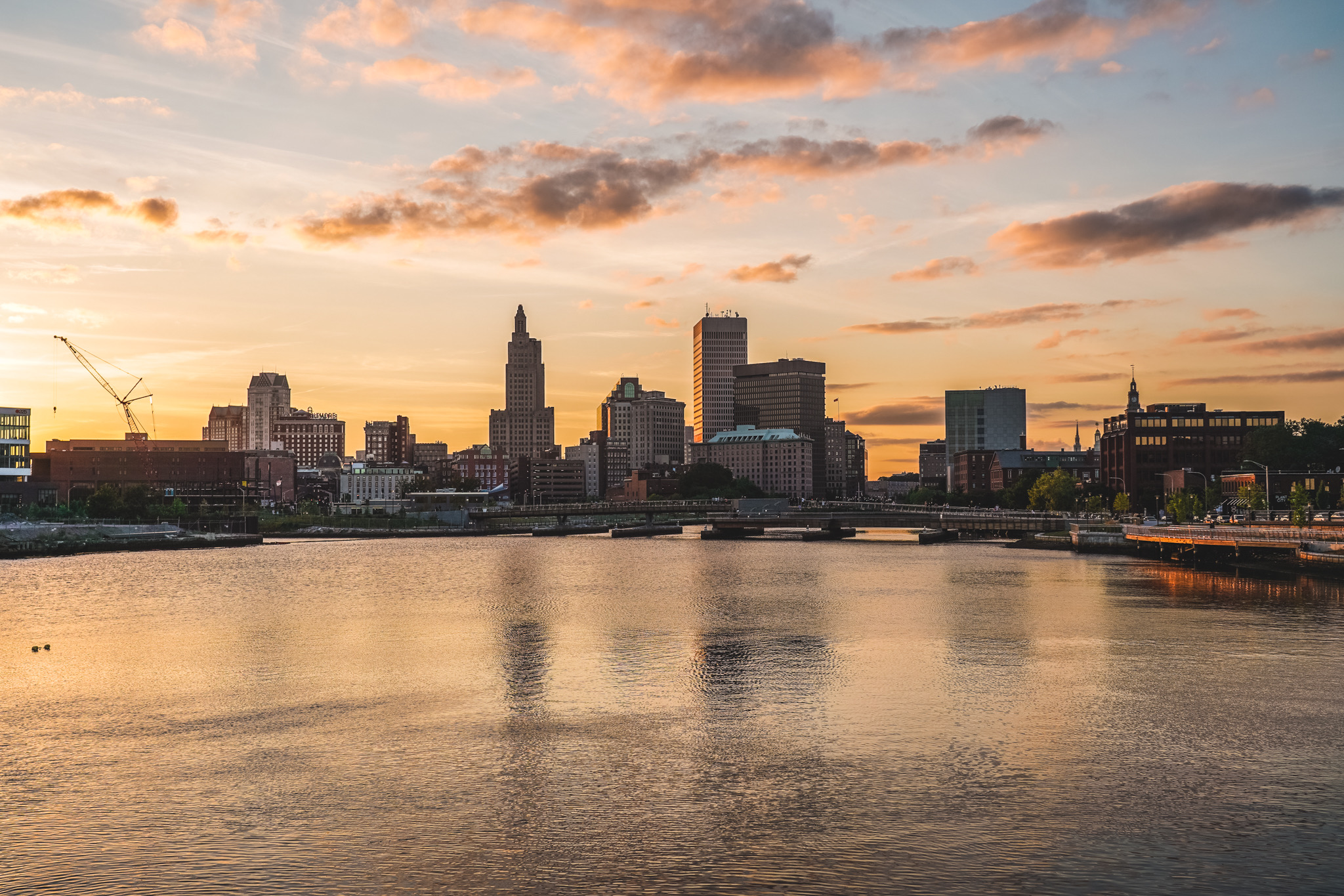 City of Providence skyline