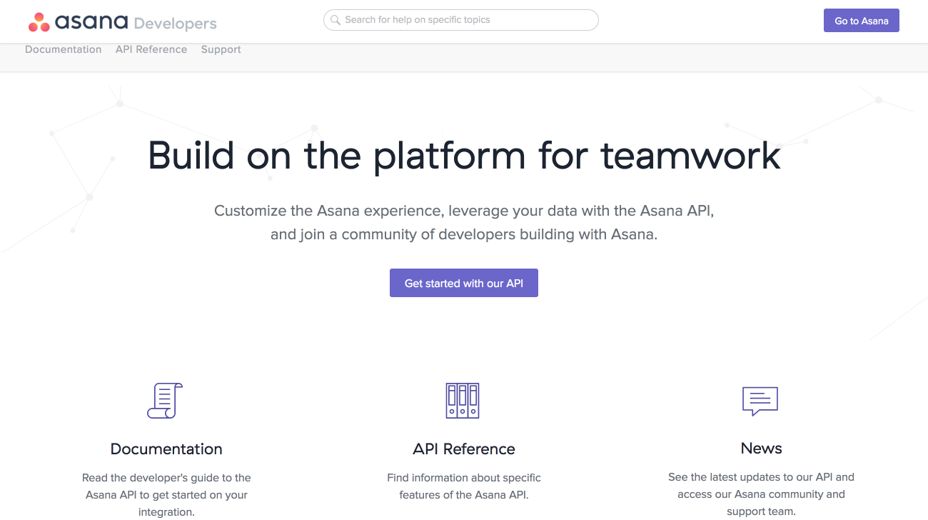 Asana-Produkt-Screenshot