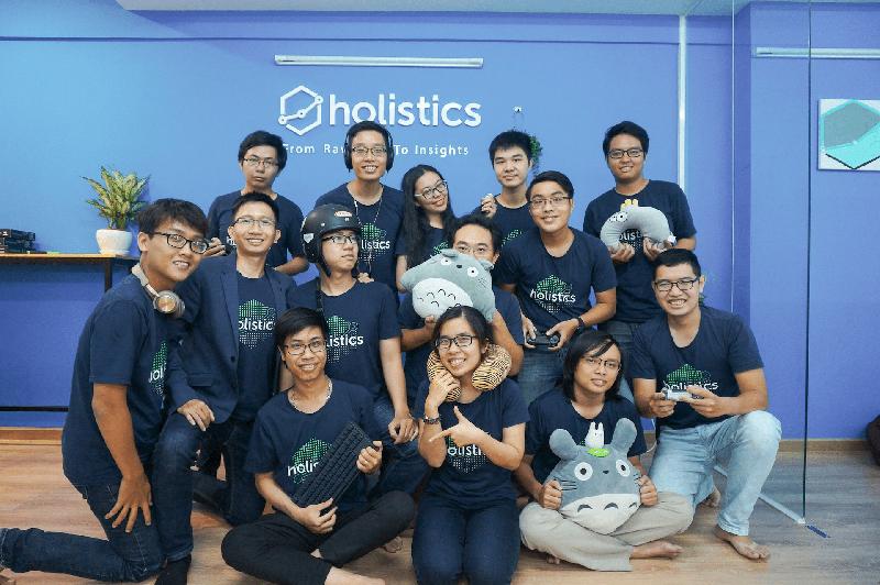 Holistics Software operates efficiently with Asana