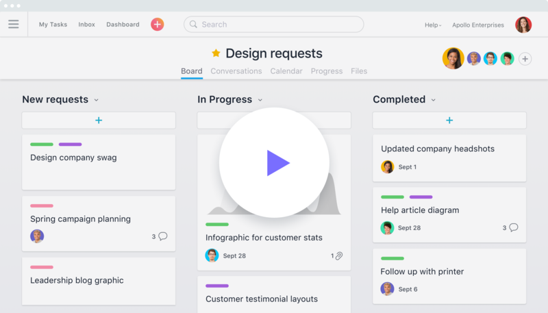 Asana demo: See all of Asana's capabilities in action