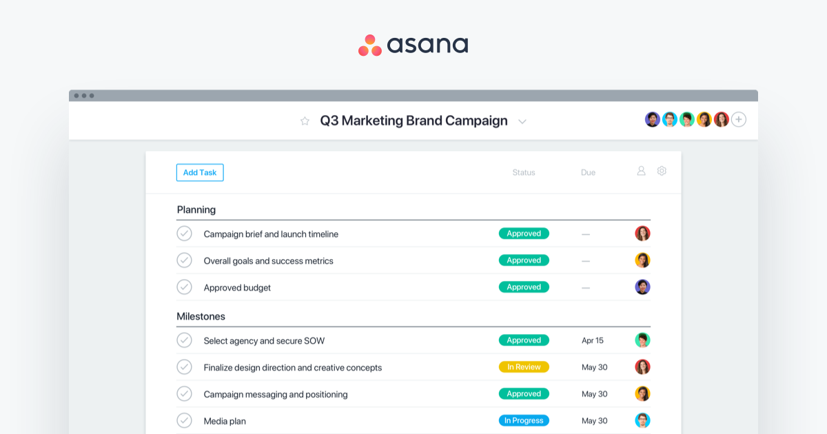 Asana Work Management - Features, Uses & Product • Asana