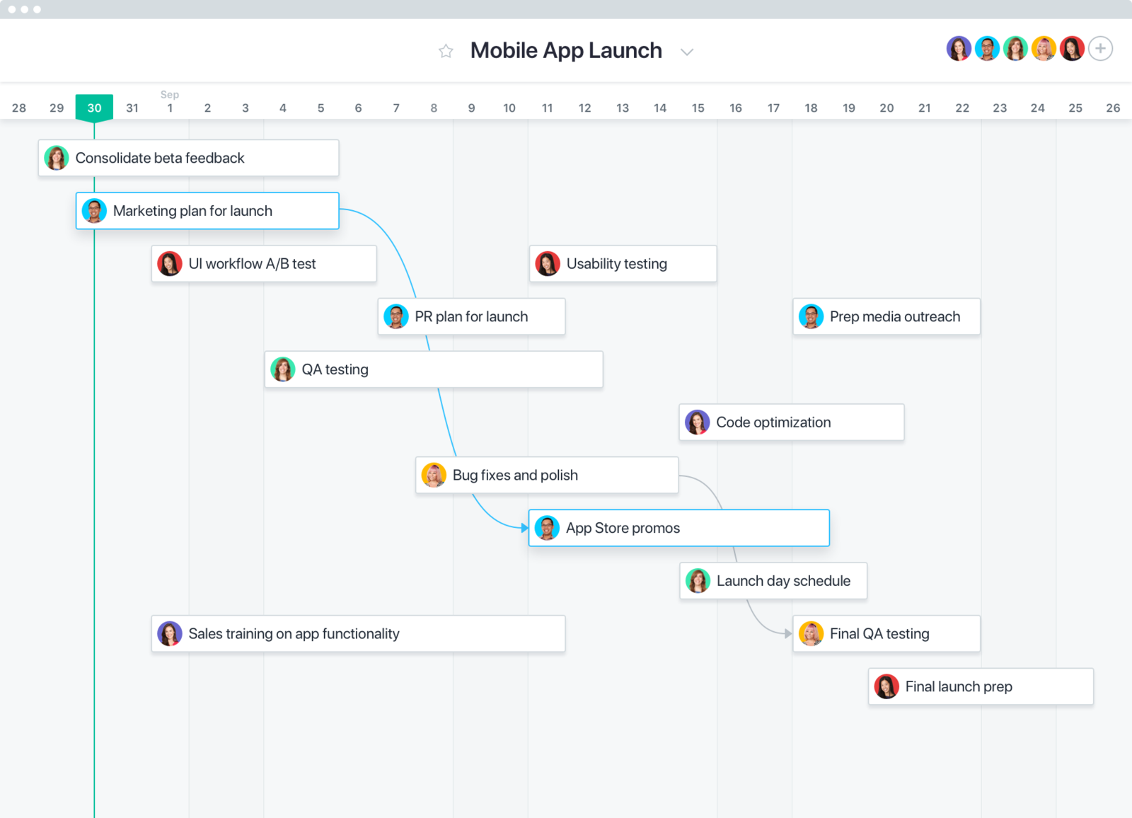 how to create project timelines and schedules asana