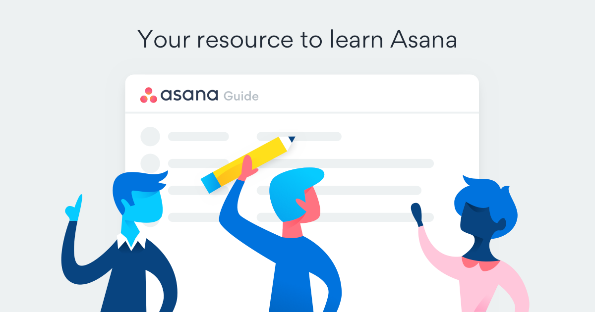 Project management with Asana | Product guide · Asana