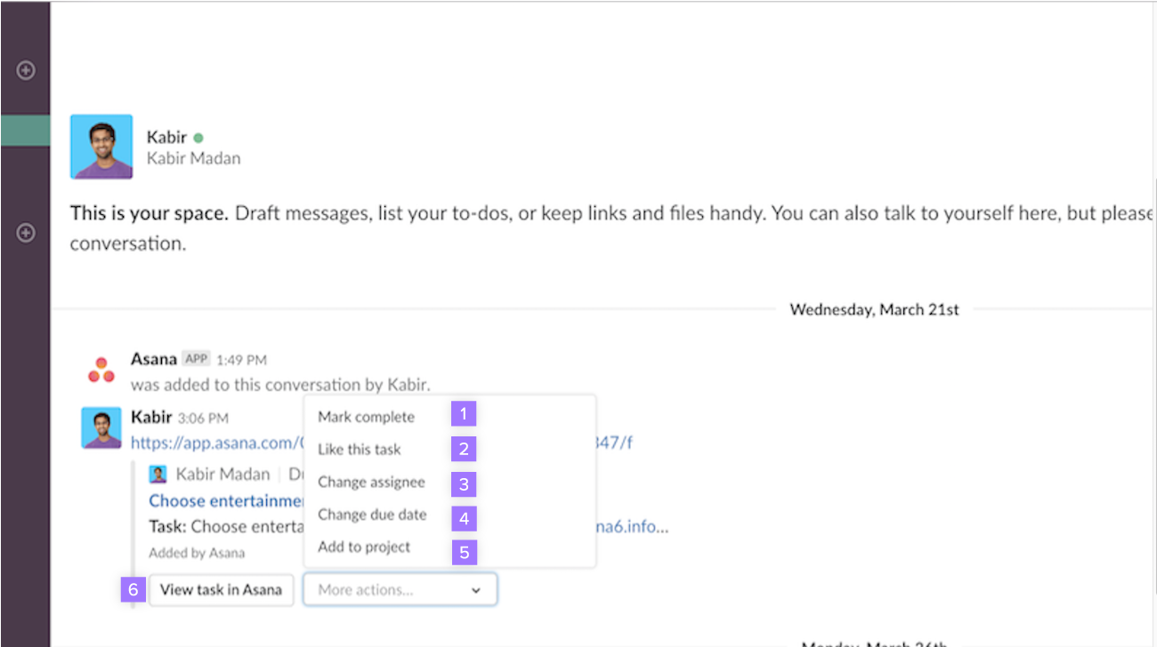Slack api delete all messages