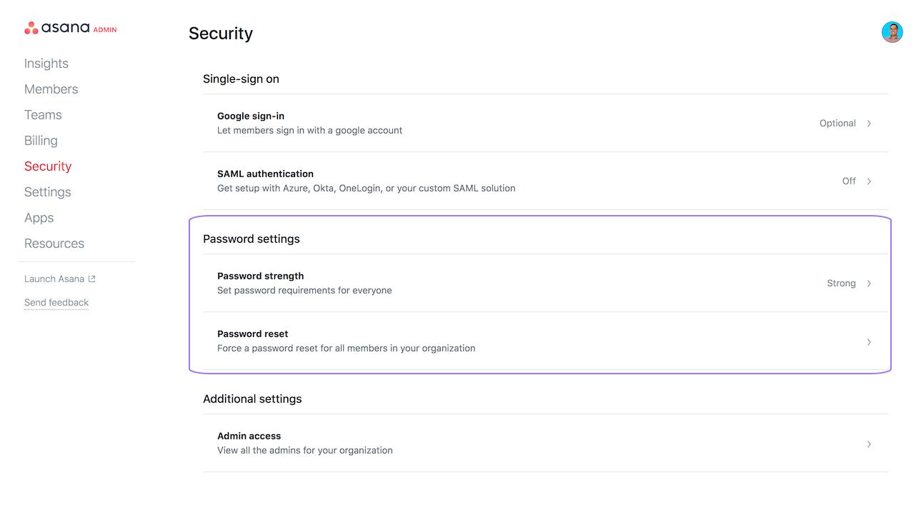Premium / Enterprise password authentication | Product guide