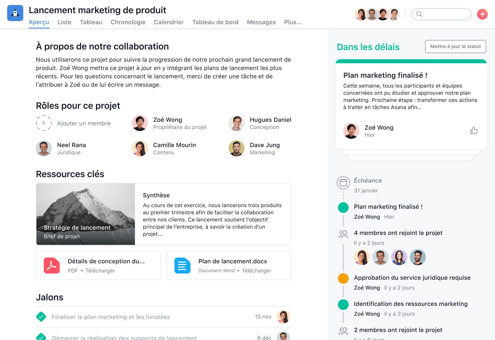 Gestion des projets marketing