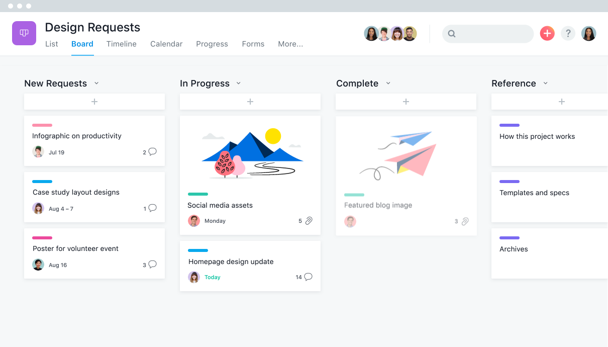 Manage your team's work, projects, & tasks online · Asana