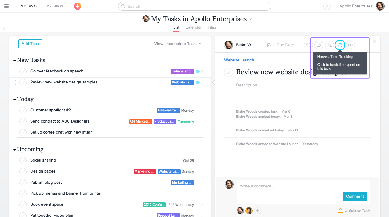 Watch How to Manage Tasks with Asana video