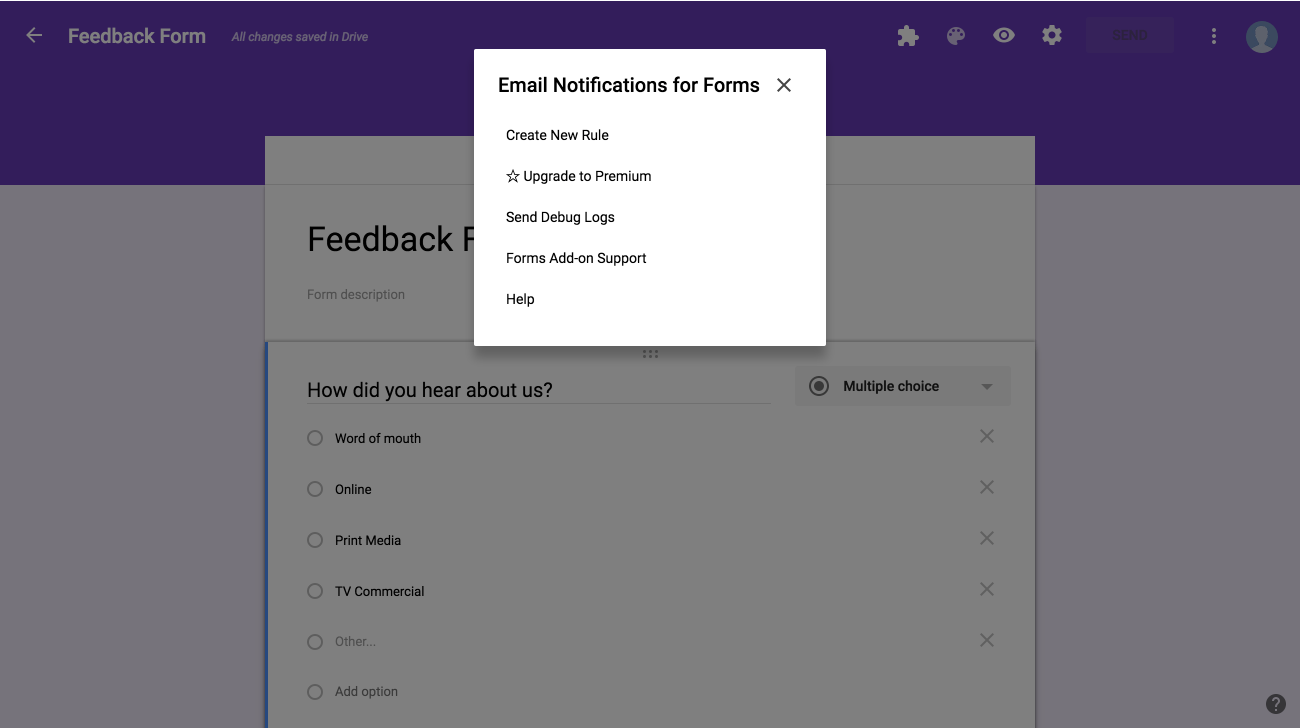 Create Asana tasks from Google Forms responses