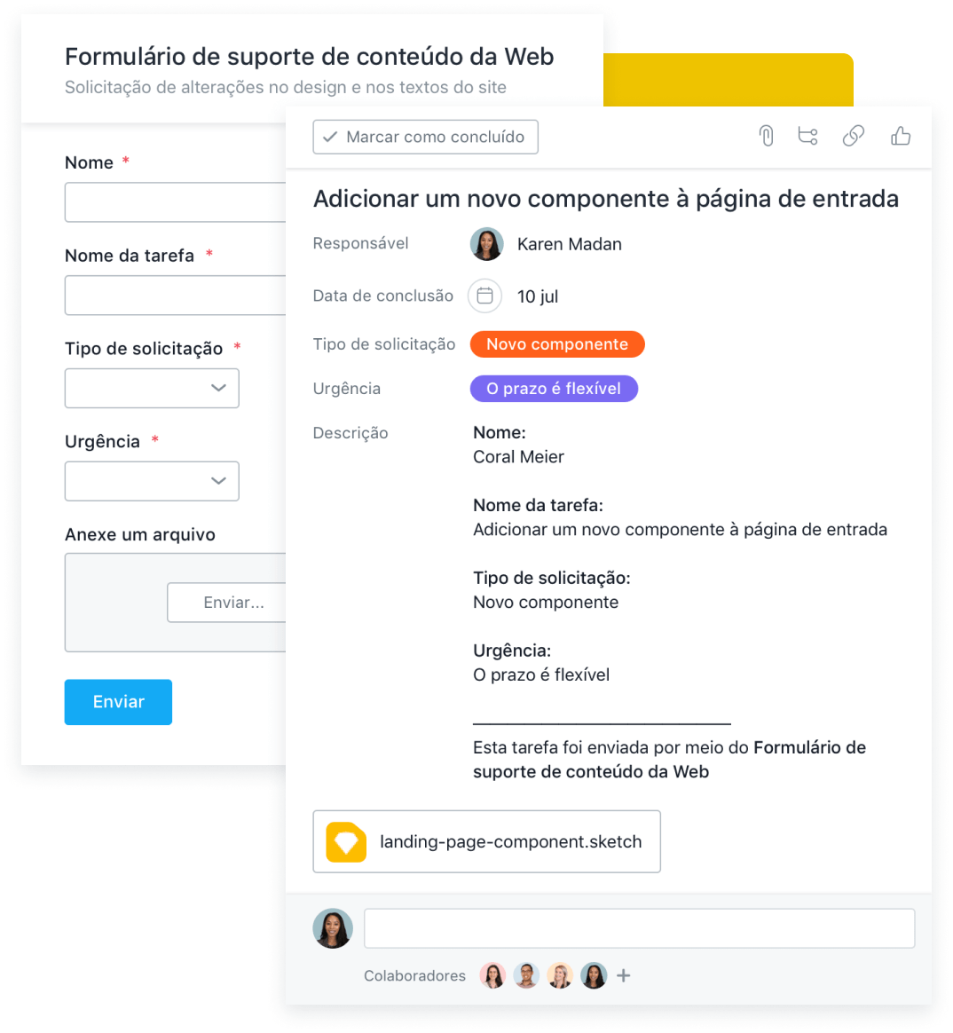 Organize os pedidos