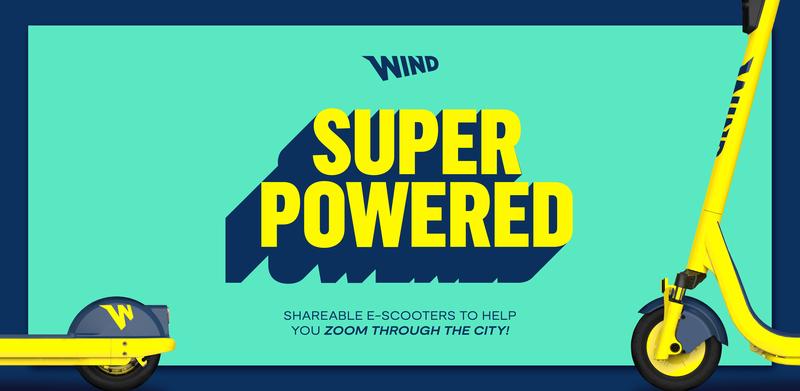 Anúncio da Wind