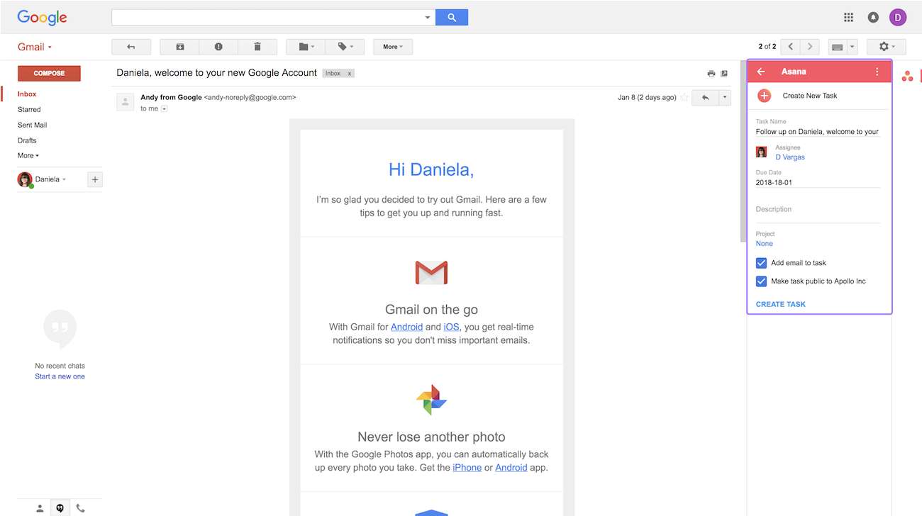 gmail add-on create task details