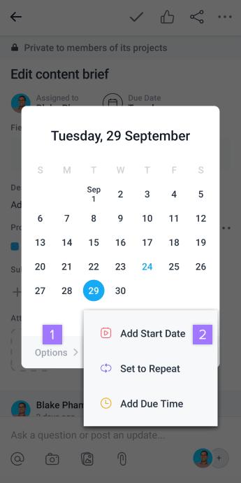 start date 1