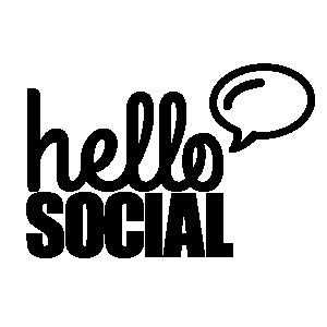Hello Social logo