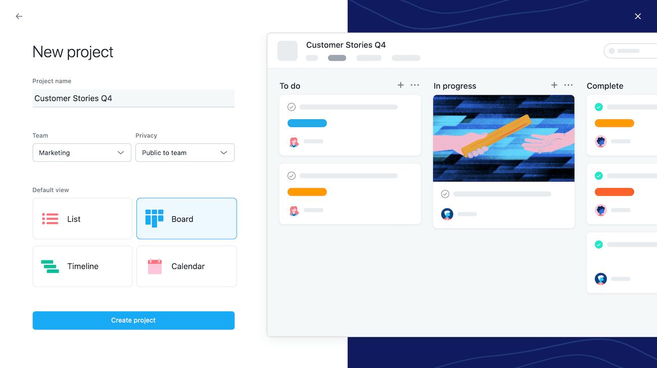 プロジェクトのボードビューを作成 2