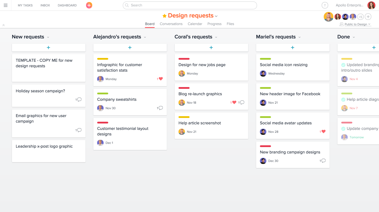 asana task template - add some more projects product guide asana