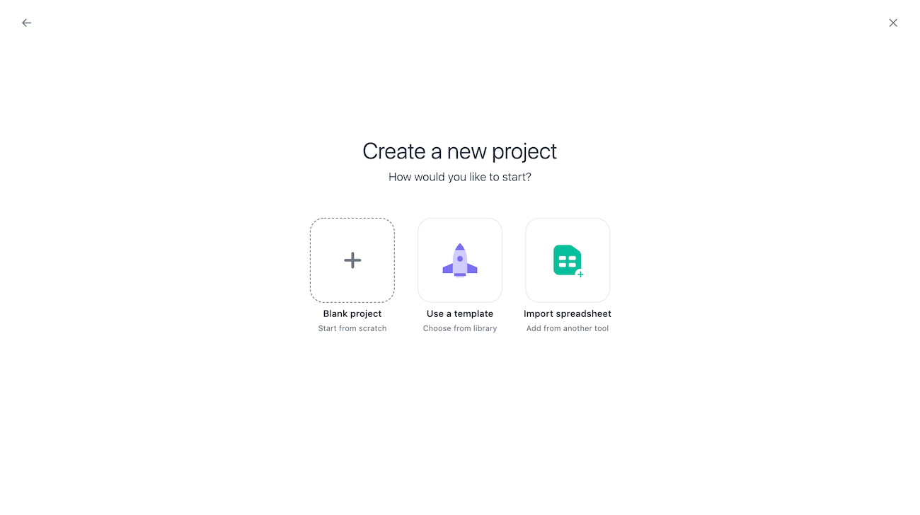 Create a board view for your project 1