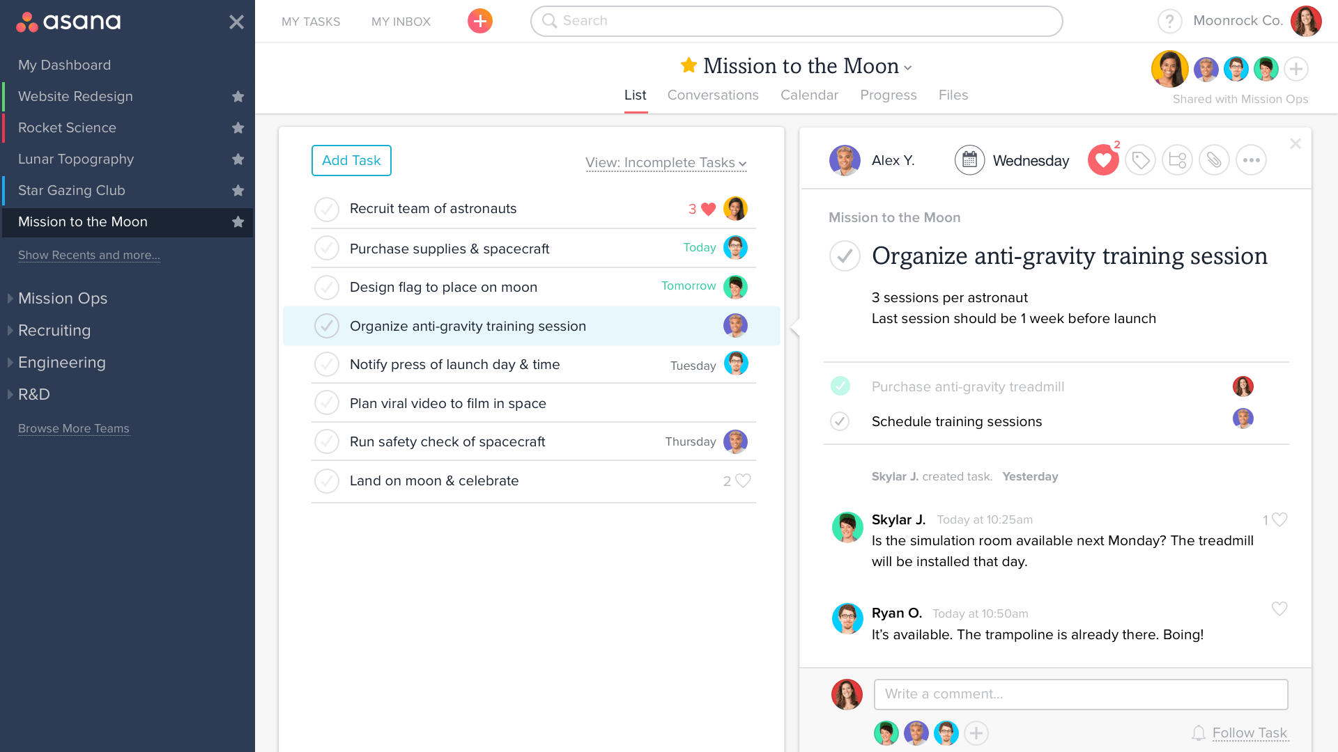 How to Manage Tasks with Asana