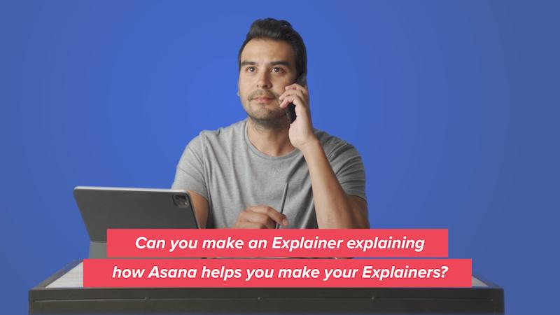 Vox Explainer Studio crea un video explicativo sobre cómo usa Asana para crear sus videos.