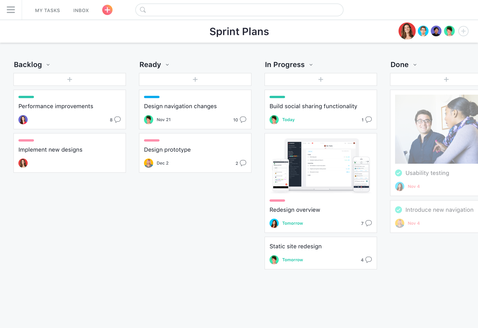 manage work in one place