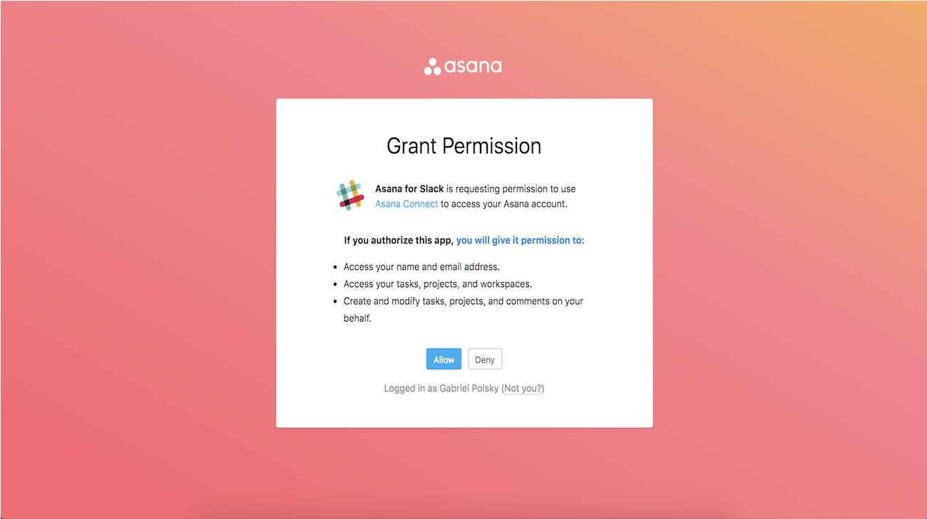 conectar Asana con Slack
