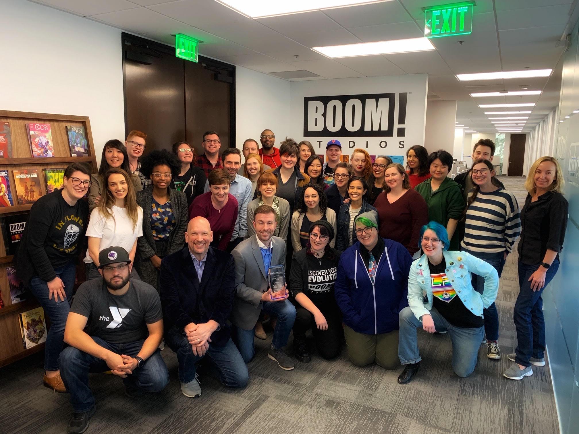BOOM! Studios team