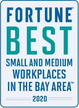 Fortune Best Small and Medium Workplaces in the Bay Area 2020