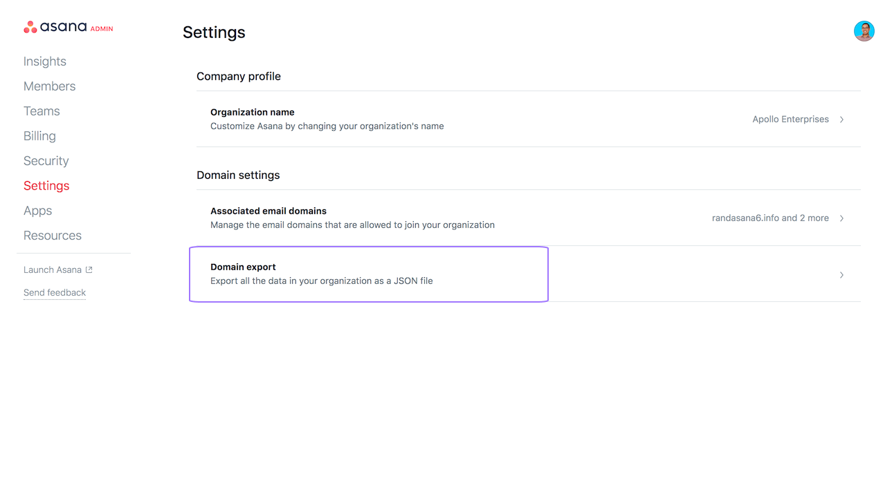Privacy & security settings in Asana | Product guide · Asana
