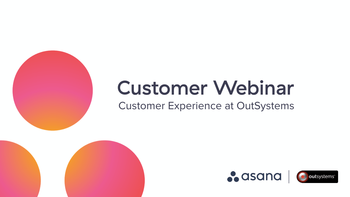 Building customer experience with OutSystems