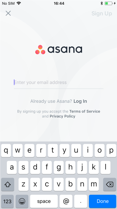 Getting started with the Asana iOS app | Product guide · Asana