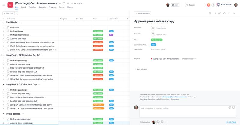 App Annie Rebranding-Projekt