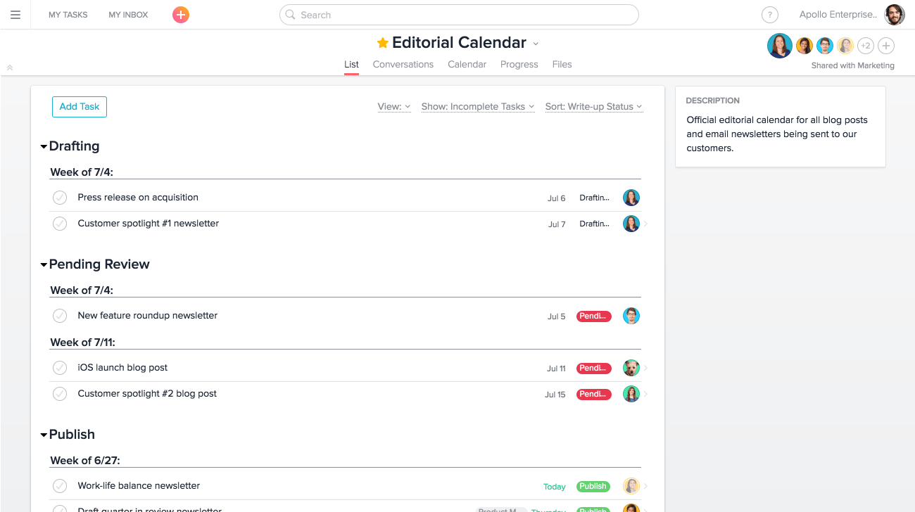 Track anything with custom fields in Asana