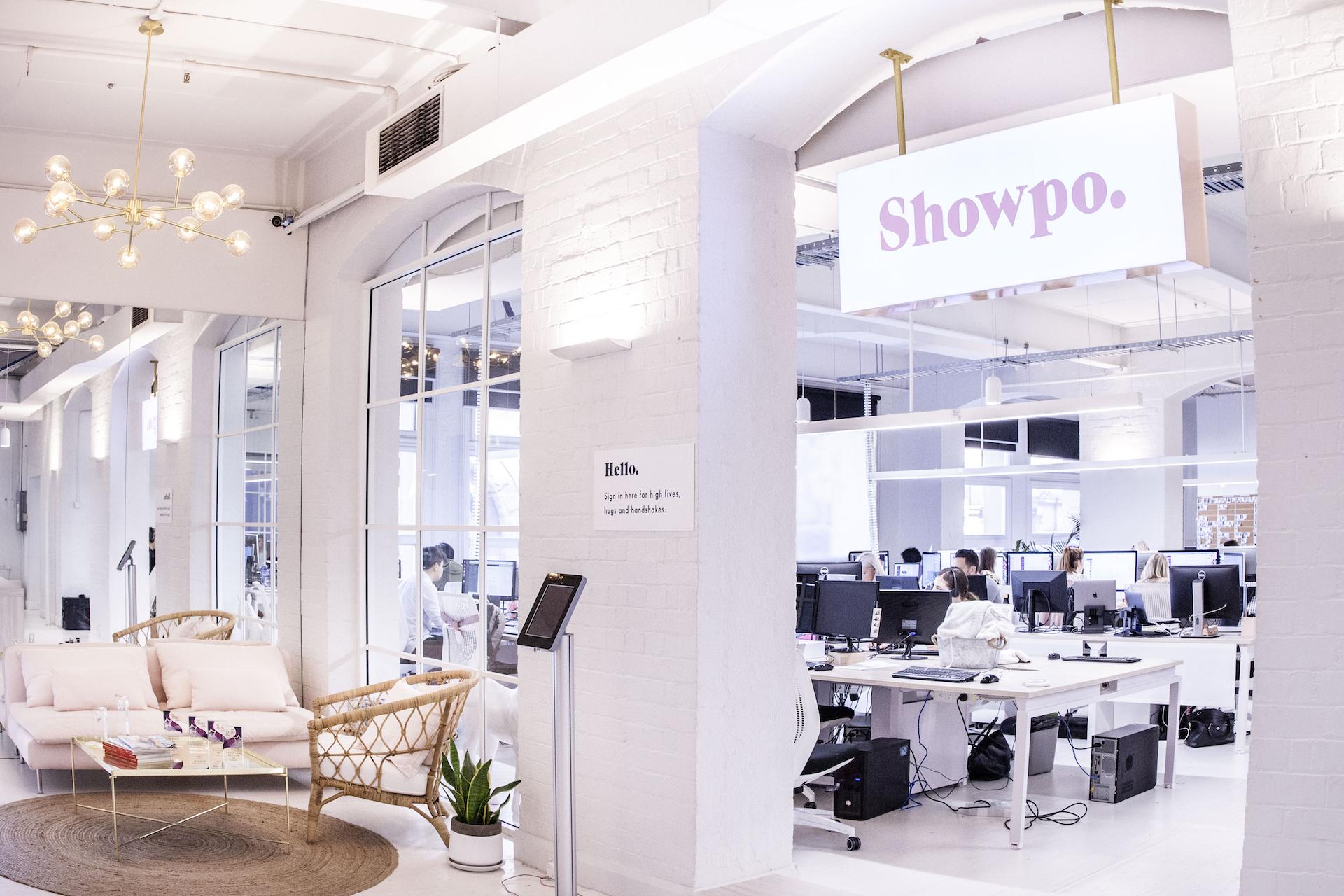 Showpo header image