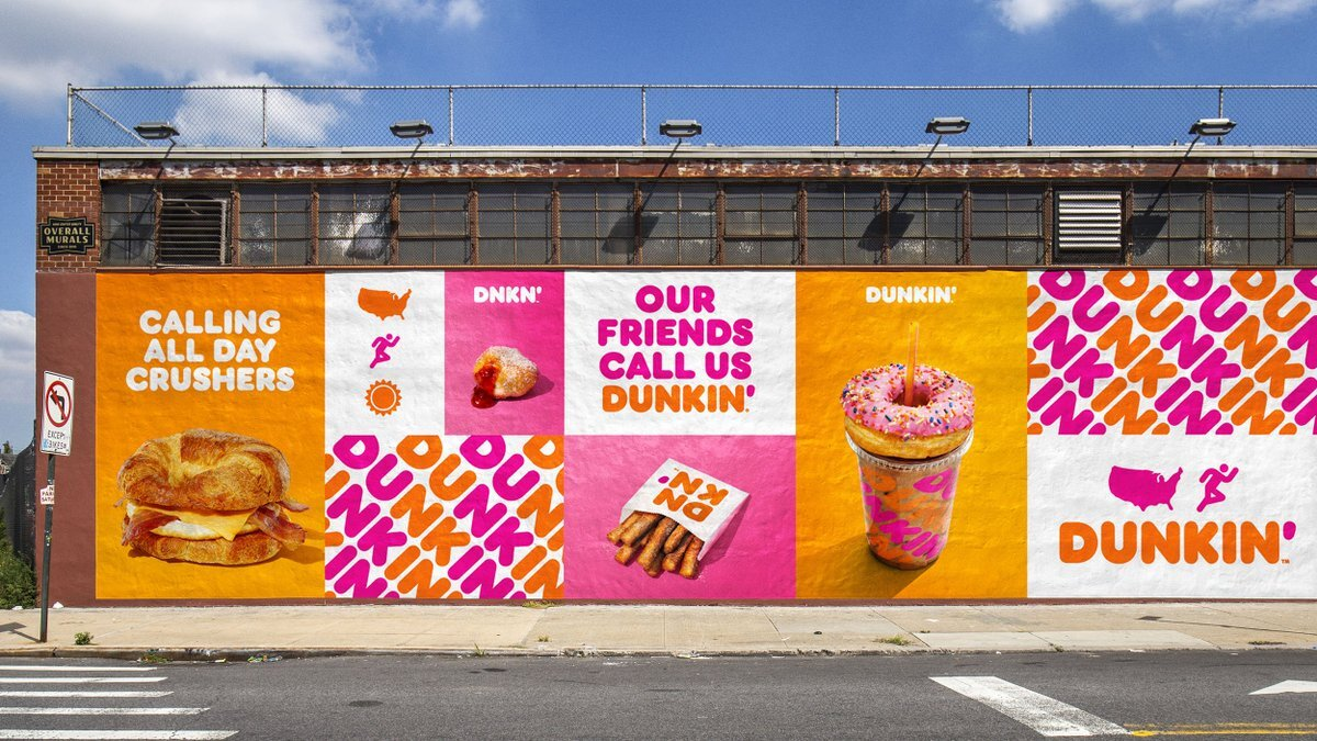 Publicidad de JRK para Dunkin