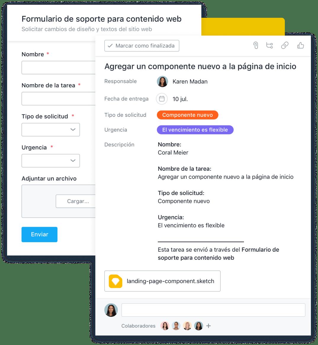 Organiza las solicitudes