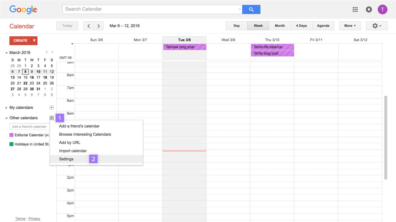 Sync Asana + Google Calendar, Outlook, Apple   Product guide · Asana