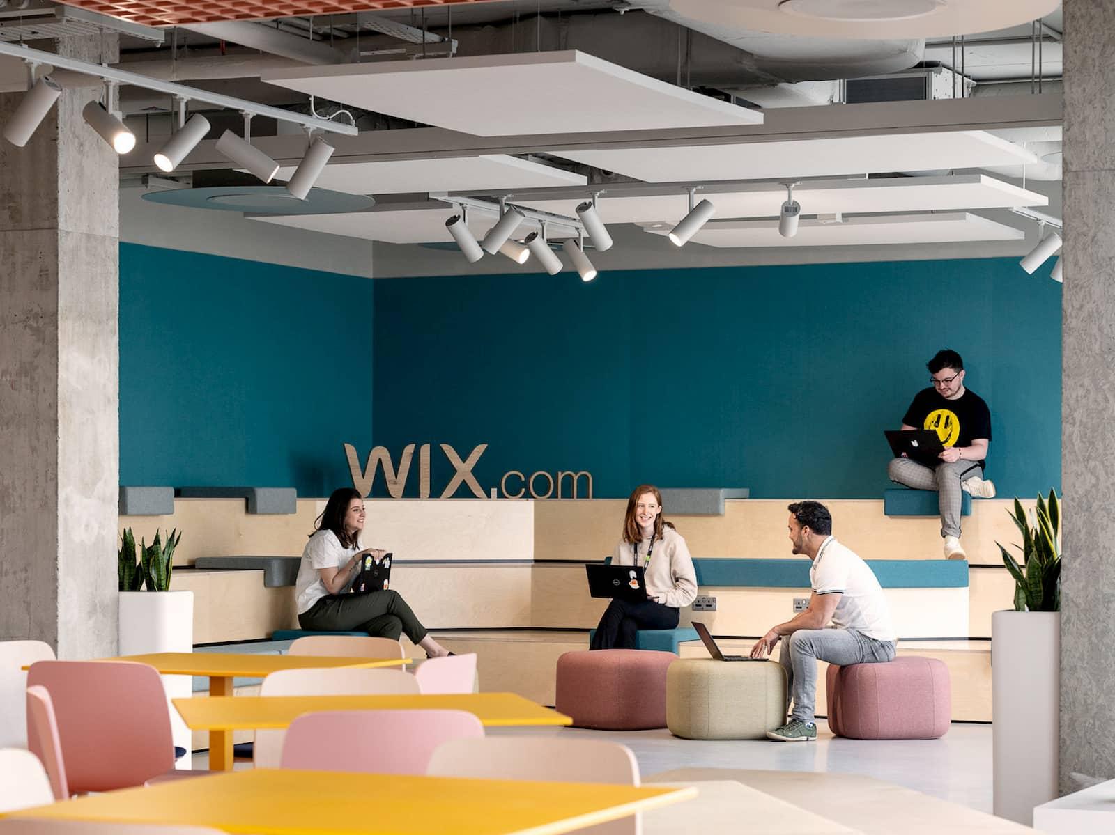 Wix のダブリンオフィスの写真