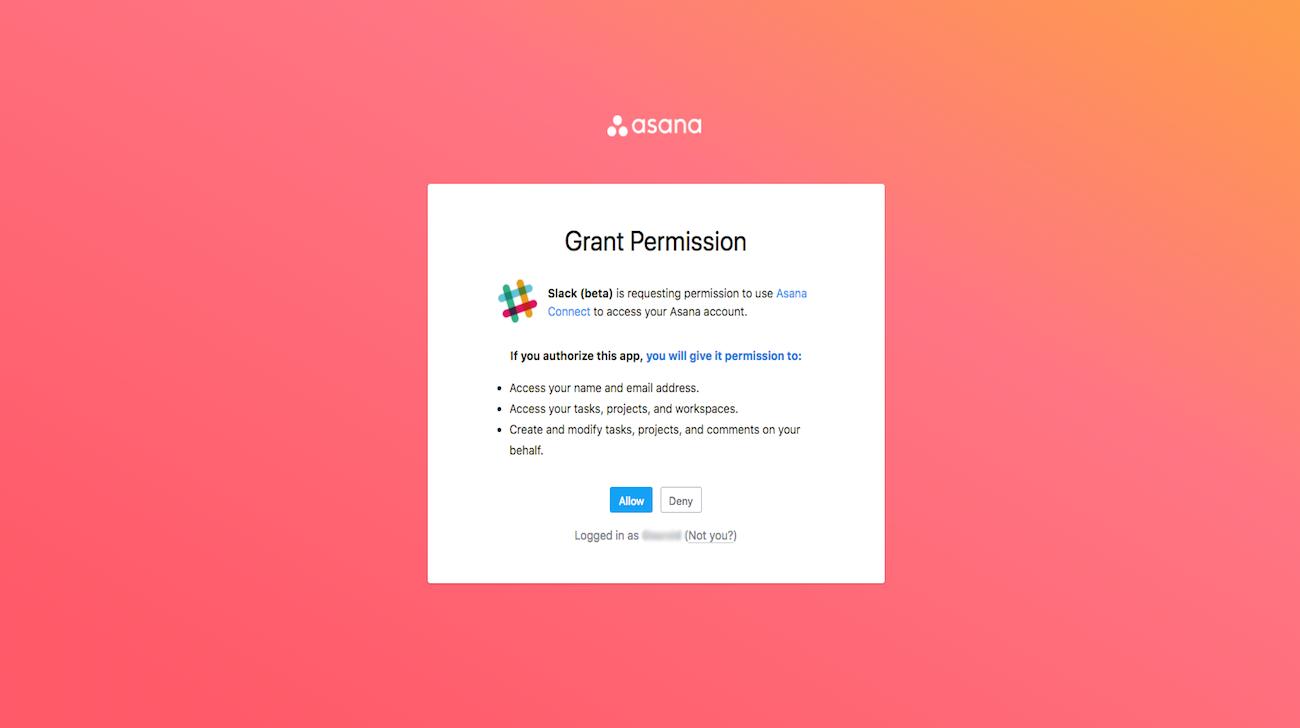 Slack-Authentifizierung