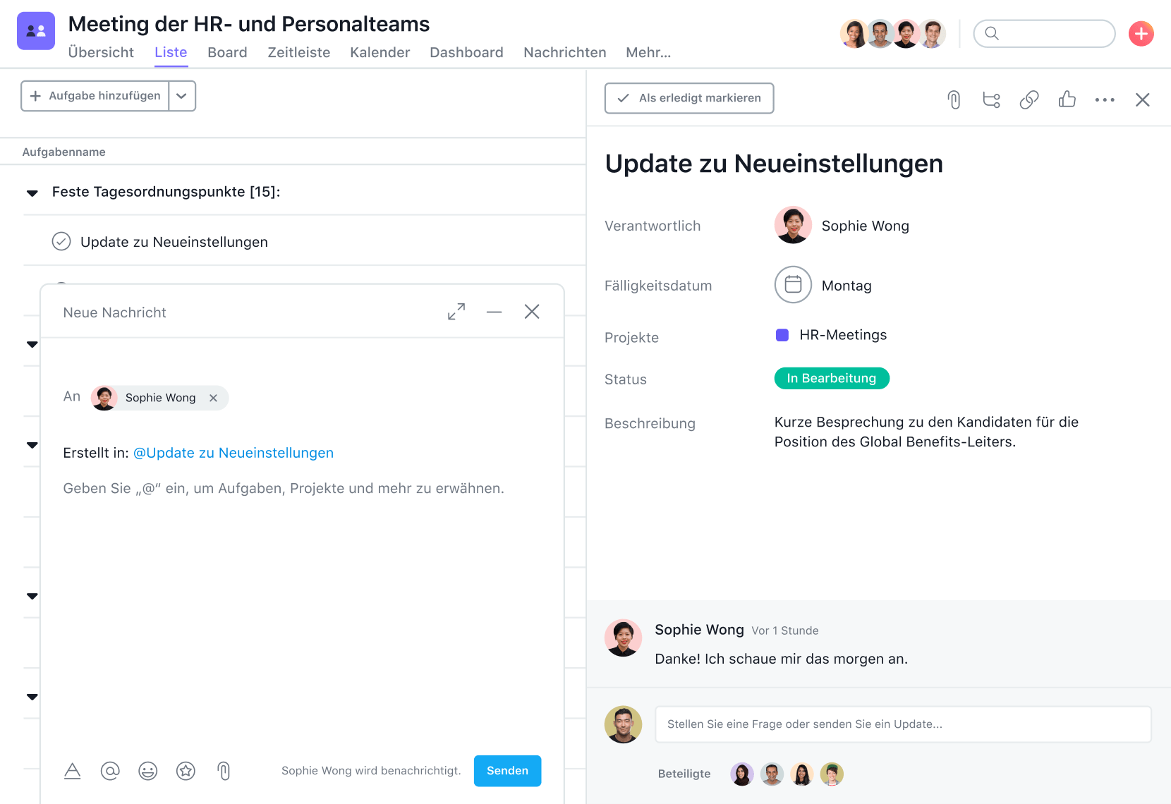 Projektmanagement für HR