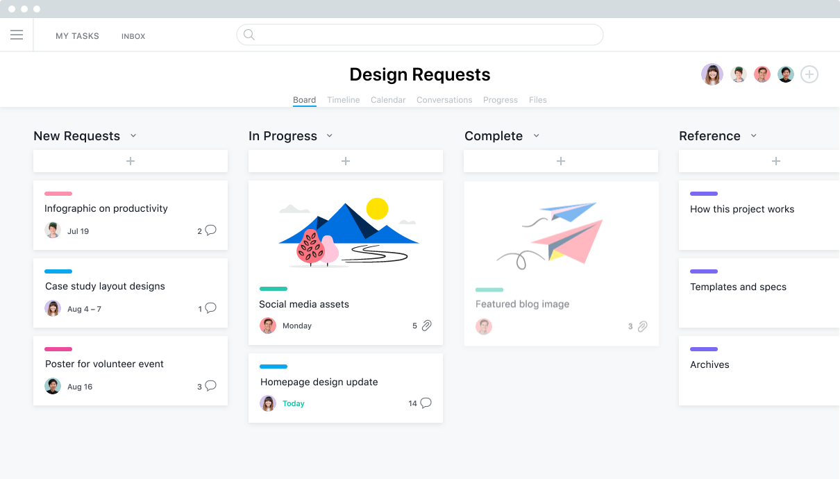 use asana to manage your teams work projects tasks online asana