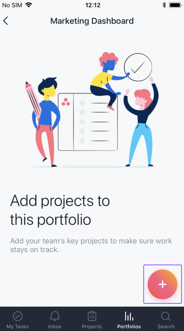 Adicionar projetos