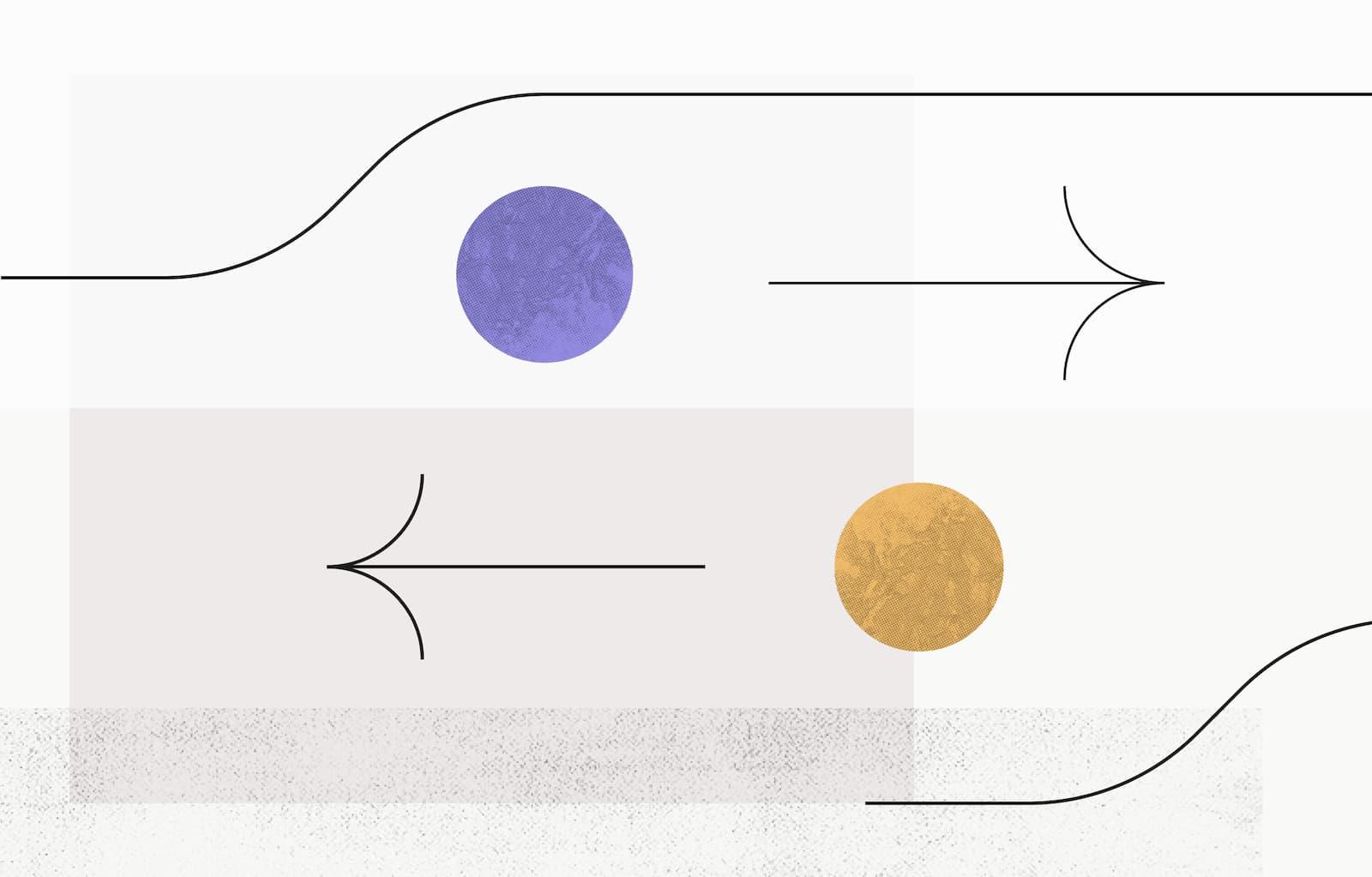 Illustration - 6 steps to build a successful change management process