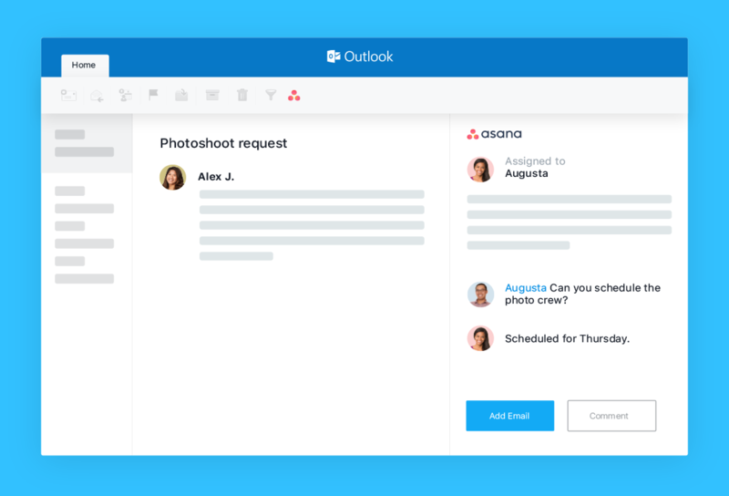 Asana for Outlook · Asana