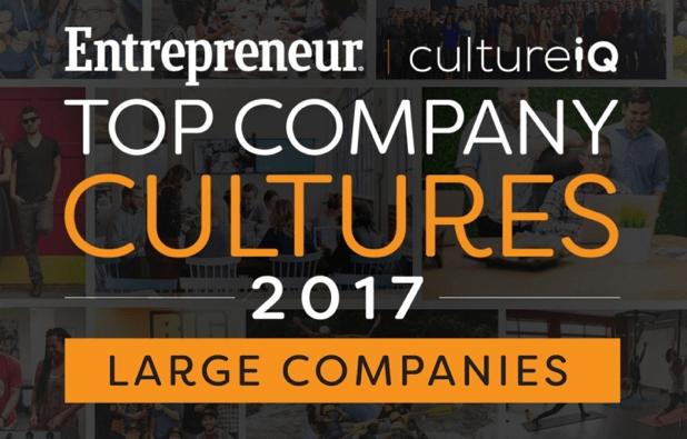 As melhores culturas empresariais de 2017 (