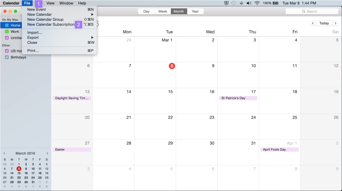 Sync Asana + Google Calendar, Outlook, Apple | Product guide · Asana