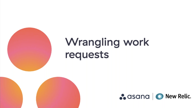 Work Requests with New Relic