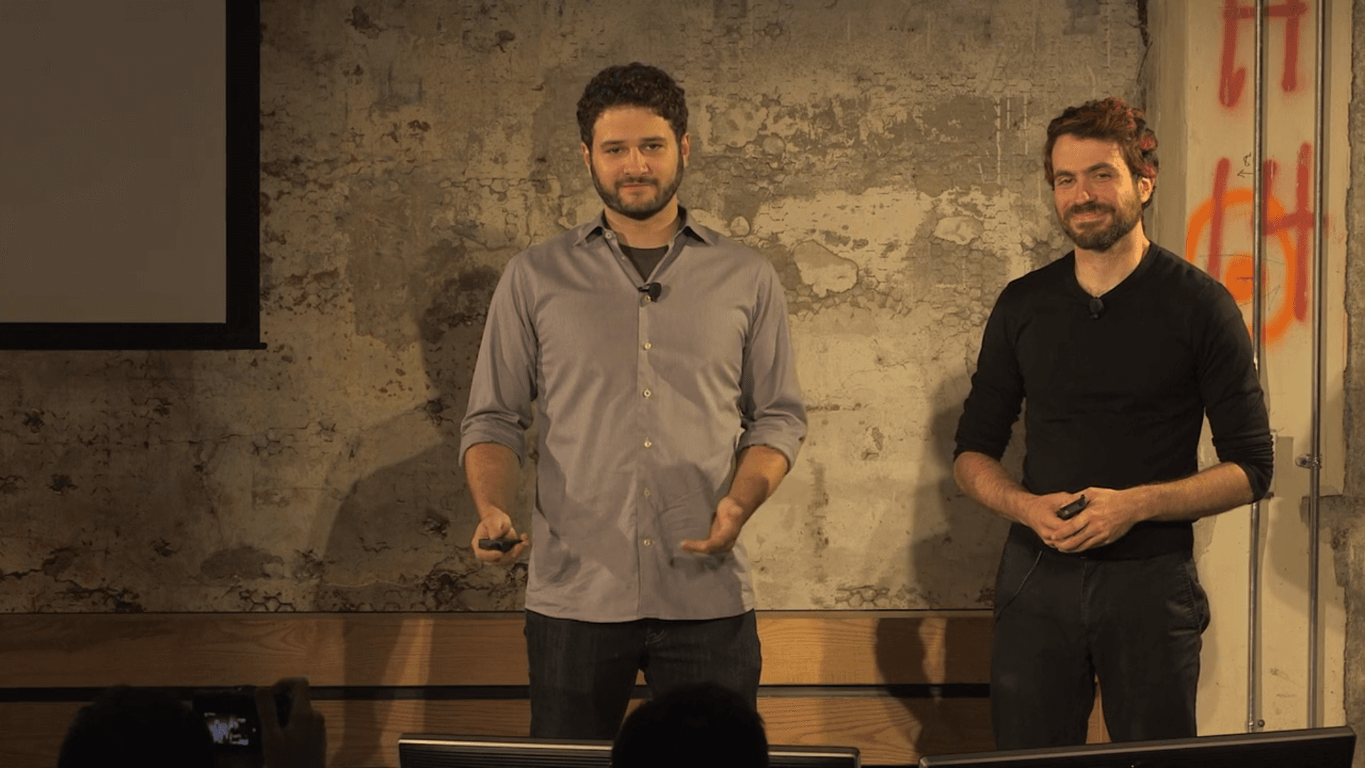 Dustin and Justin introducing the new Asana brand