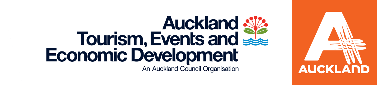 Auckland Tourism, Events & Economic Development logo