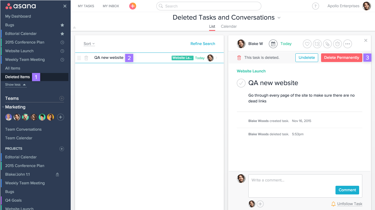 how to create a conversation in asana product guide asana